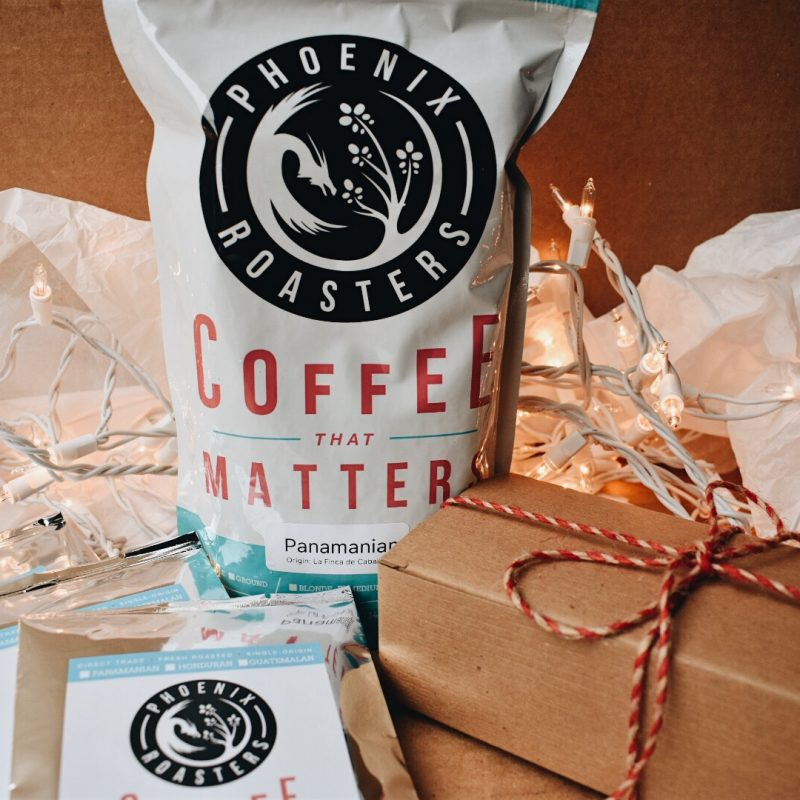 Gift Bag with Coffee Toffee