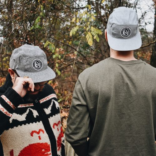 Five Panel Logo Hat
